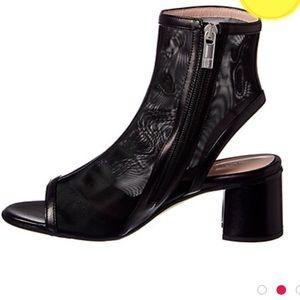 Taryn Rose peeptoe booties